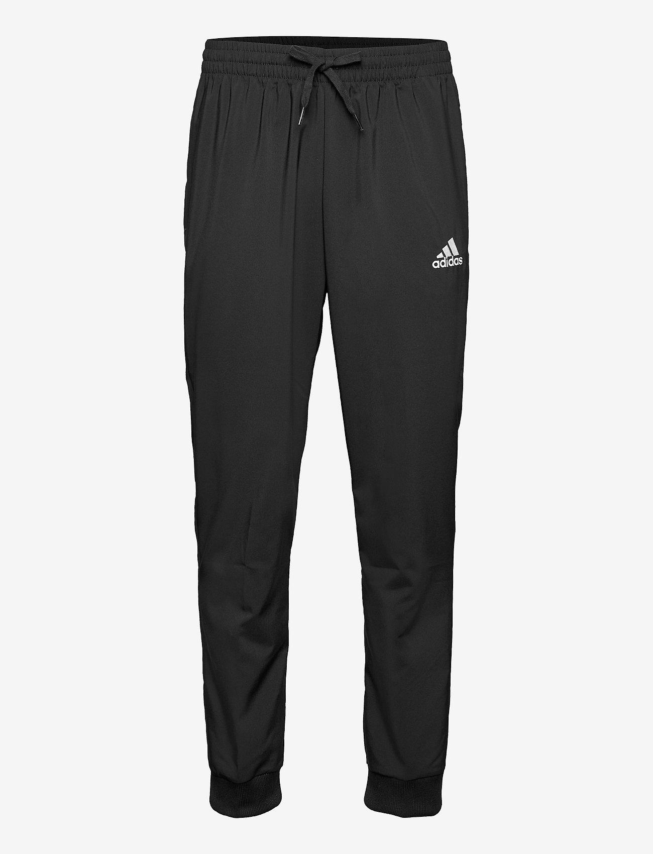 adidas Performance - AEROREADY Essentials Stanford Tapered Logo Pants - spodnie treningowe - black - 1