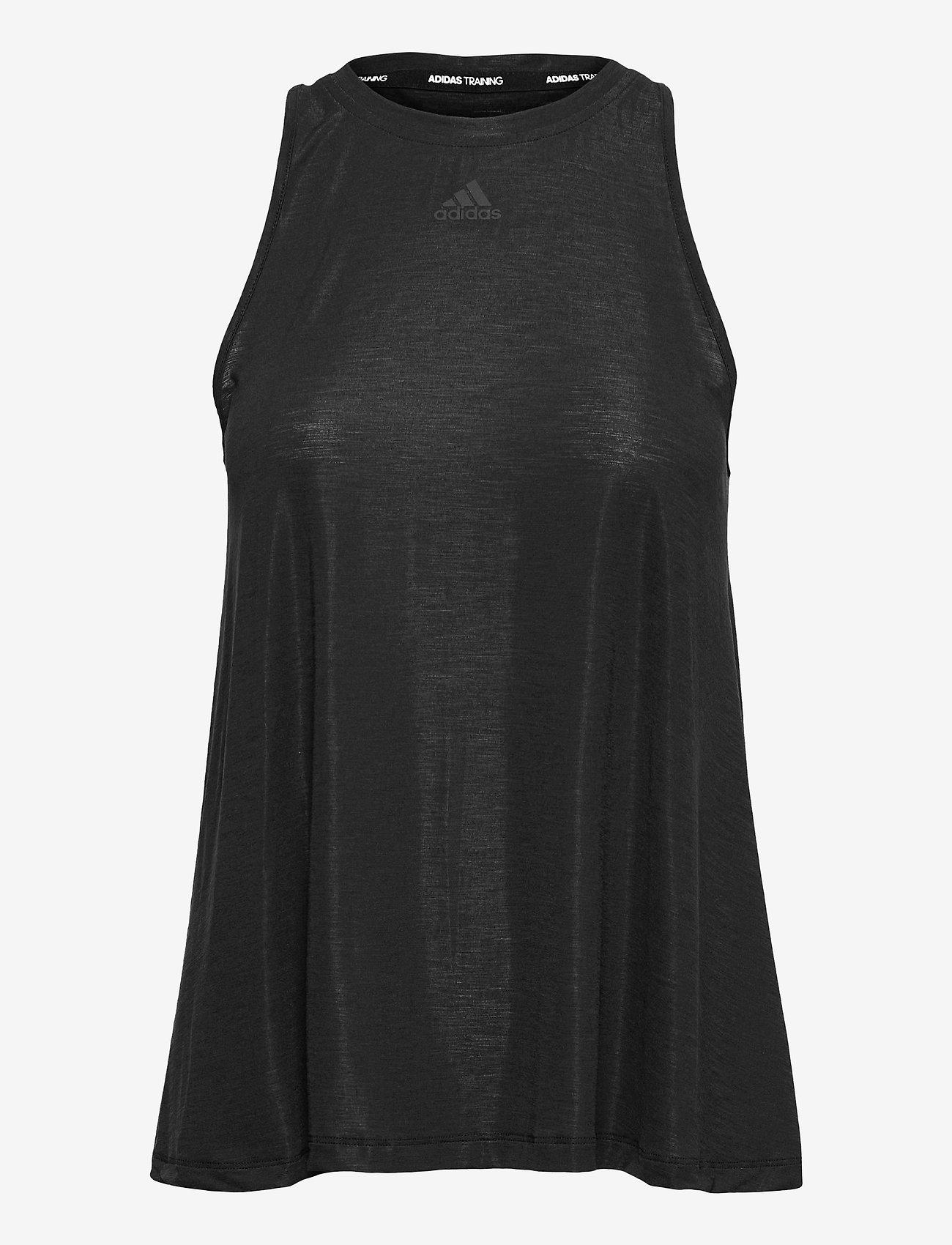 adidas Performance - Dance Tank Top W - tank tops - black/clear - 1