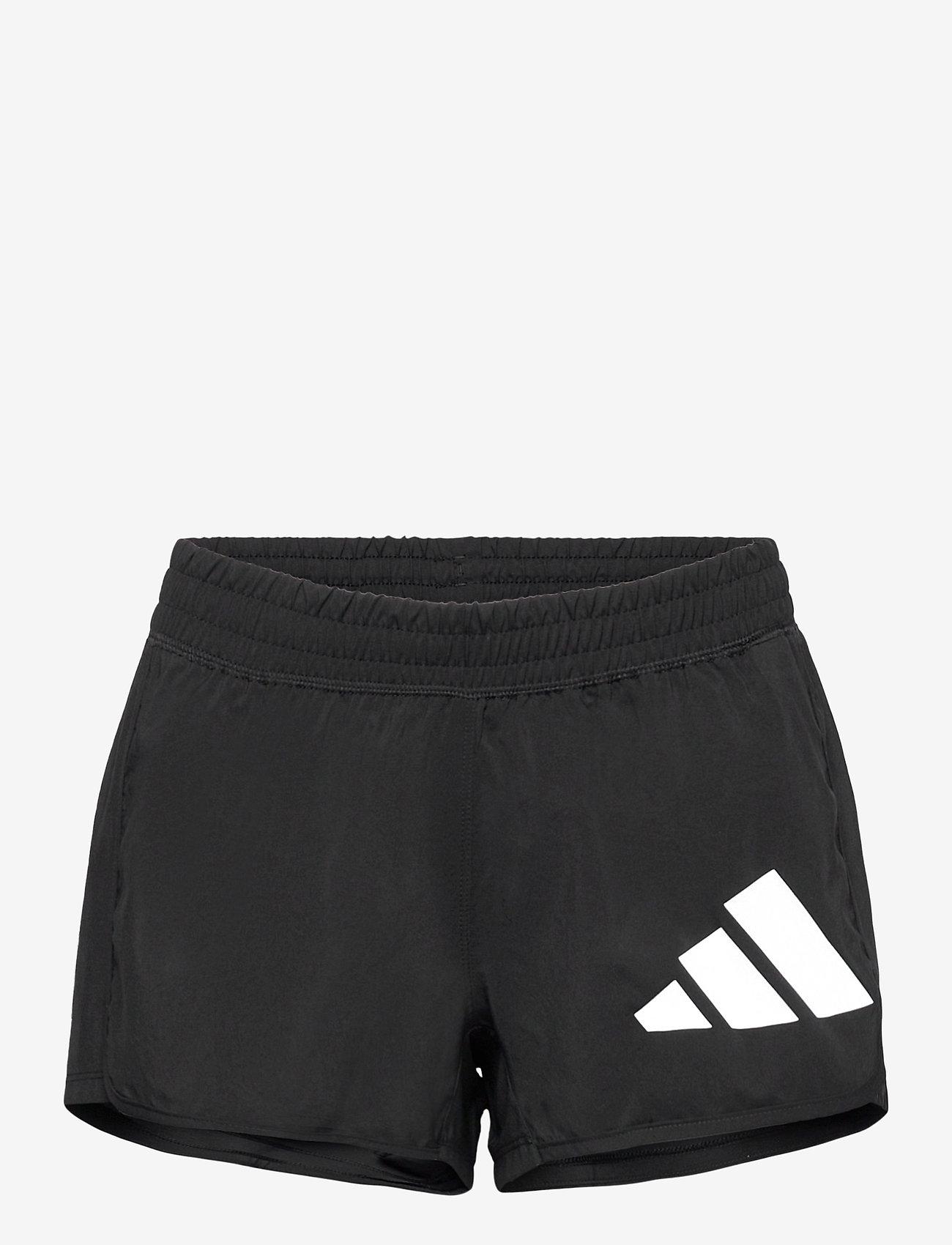 adidas Performance - 3 Bar Logo Woven Shorts W - træningsshorts - black/white - 1