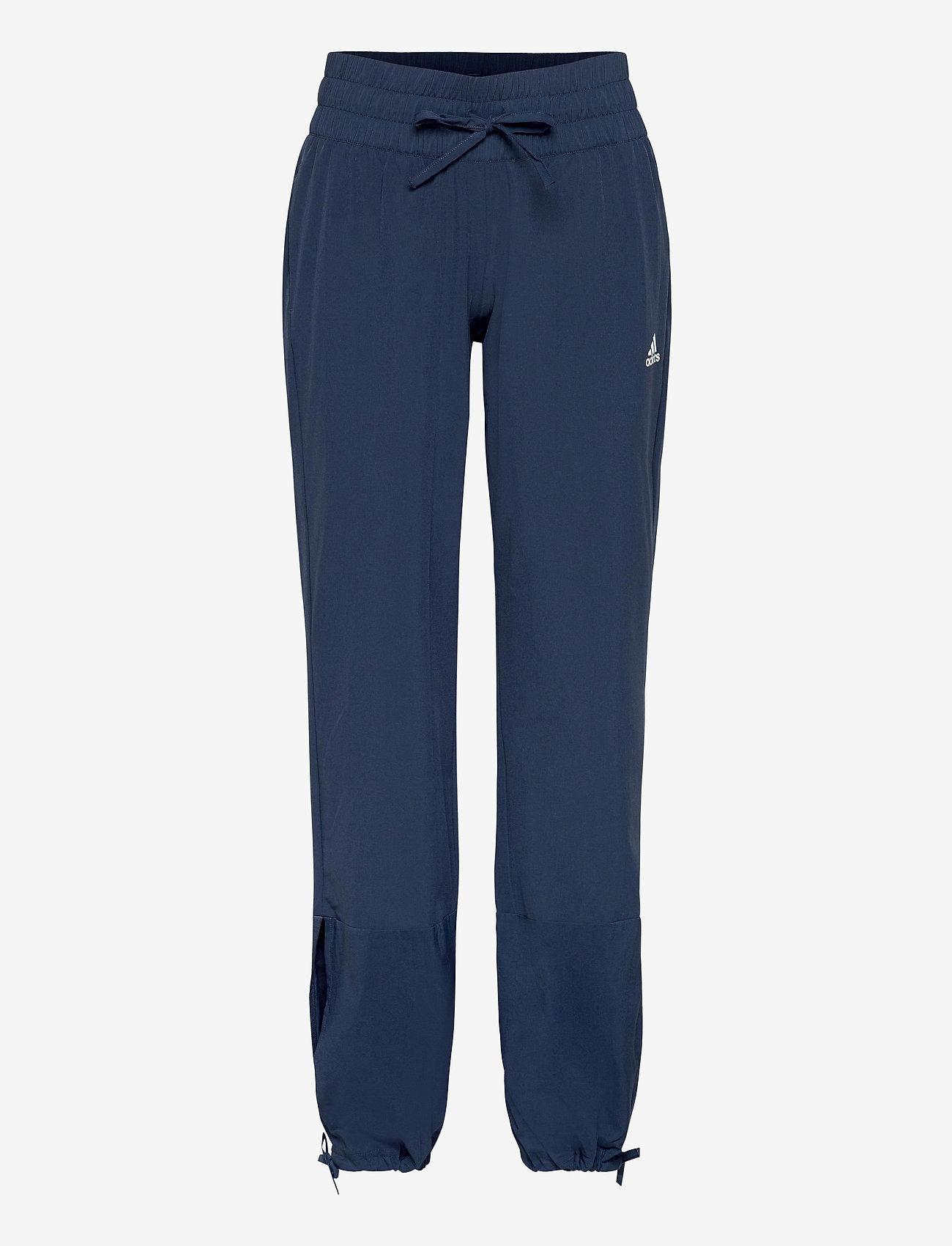 adidas Performance - Essentials AEROREADY Dance Pants W - sportbroeken - crenav/white - 1