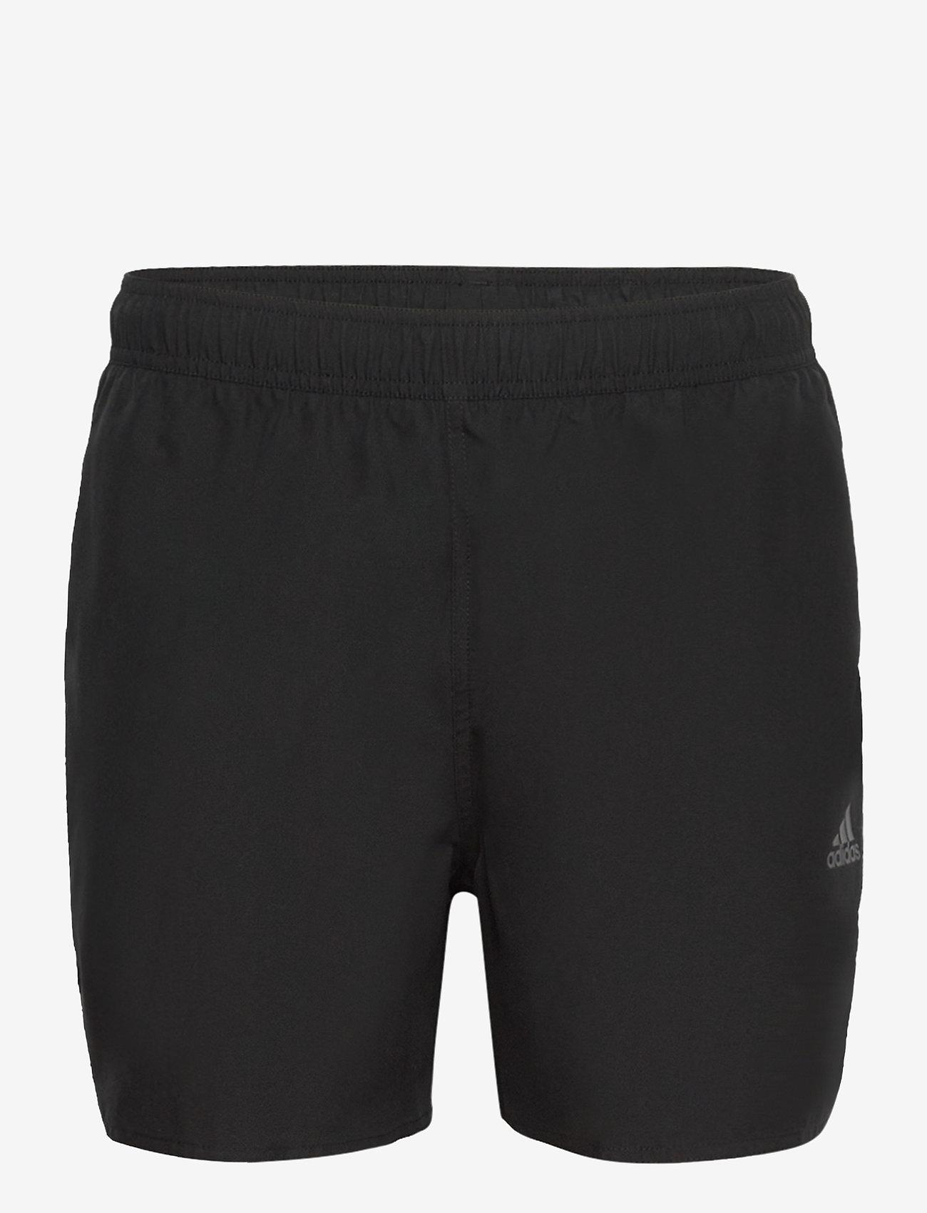 adidas Performance - Short-Length Colorblock 3-Stripes Swim Shorts - shorts - black/gresix - 1
