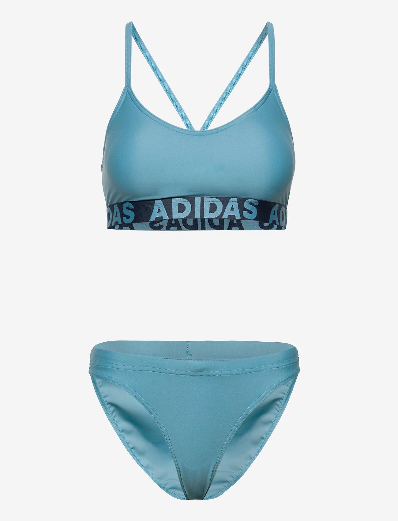 adidas Performance - Beach Bikini W - sport bikini''s - hazblu - 0