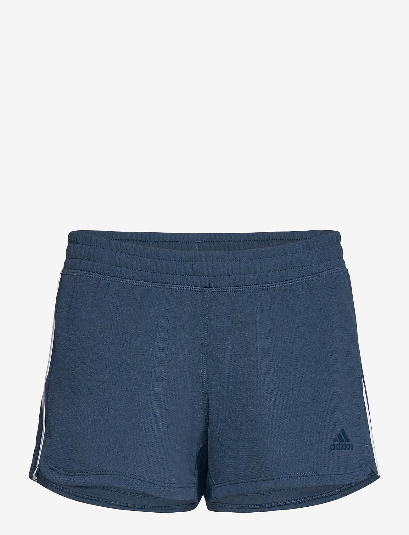 adidas Performance - Pacer 3-Stripes Knit Shorts W - training korte broek - crenav/white - 1
