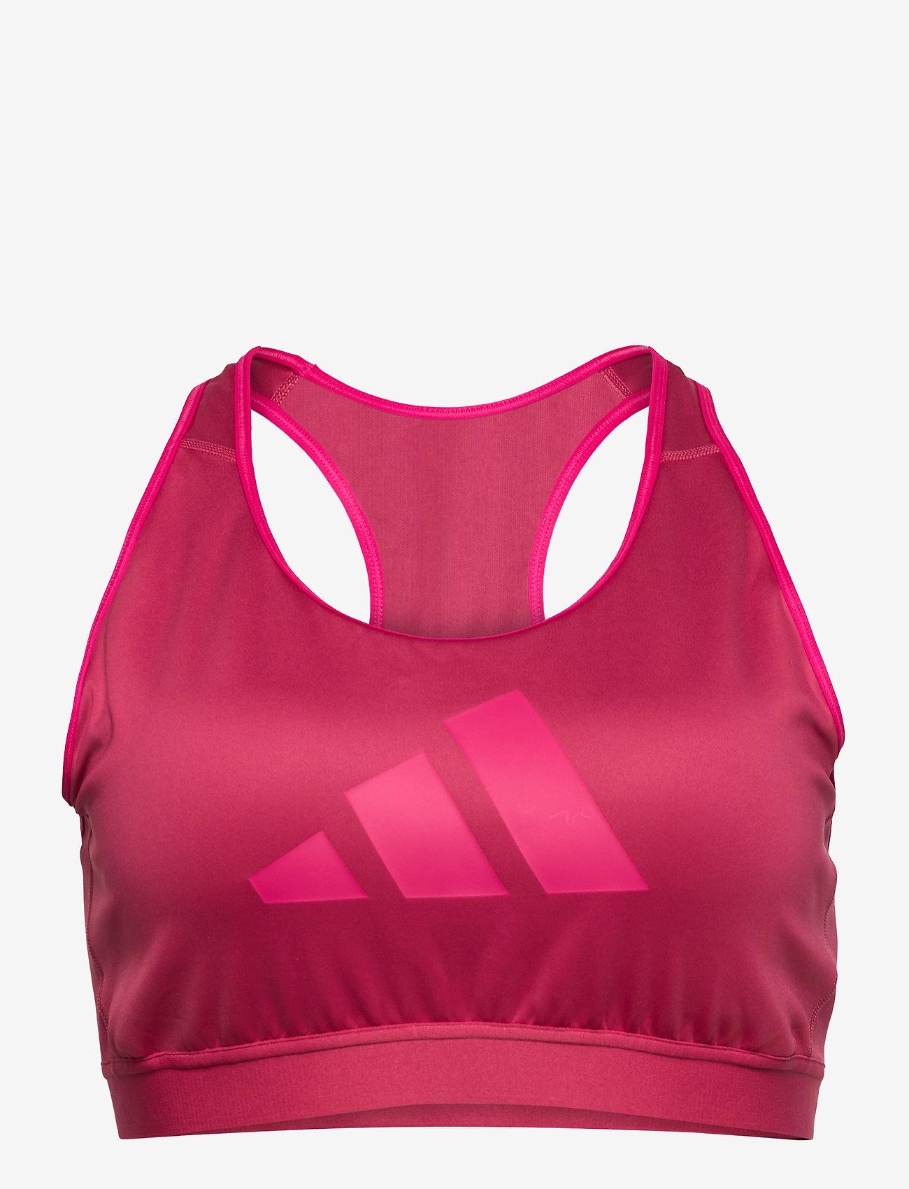 adidas Performance - Don't Rest Bra W (Plus Size) - sport bras: high support - wilpnk/scrpnk - 1