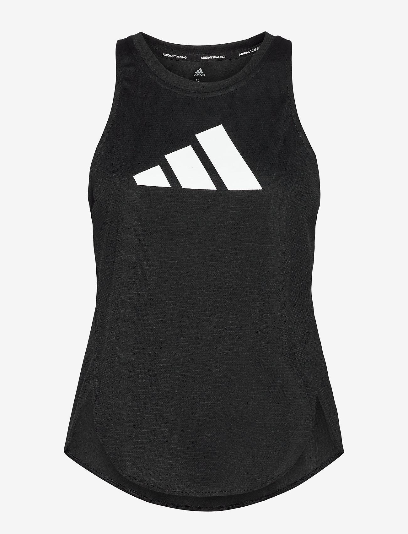 adidas Performance - Badge of Sport Tank Top W - topjes - black/grefou/white - 1