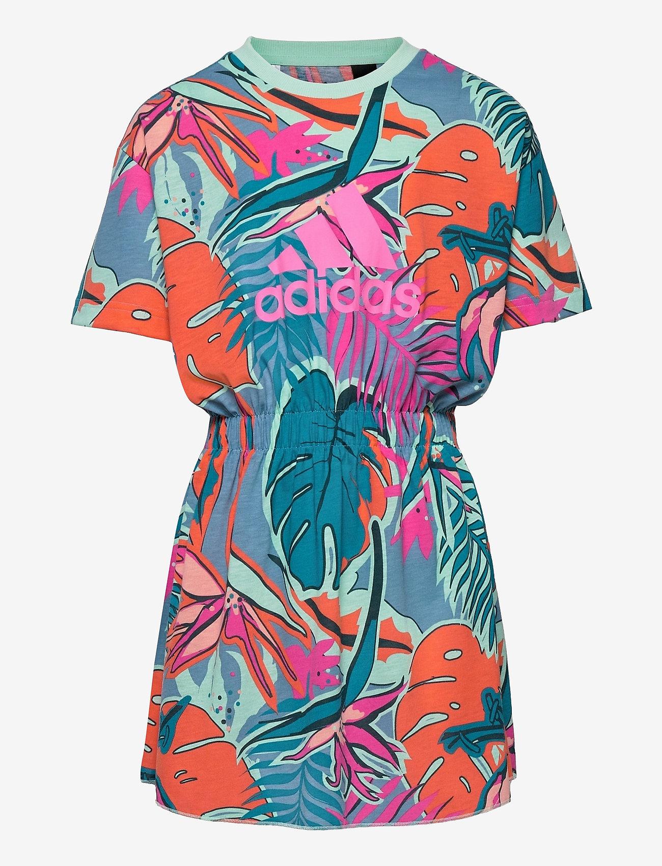 adidas Performance - Dance Dress - kleider - scrpnk/clemin/hazblu/ - 0