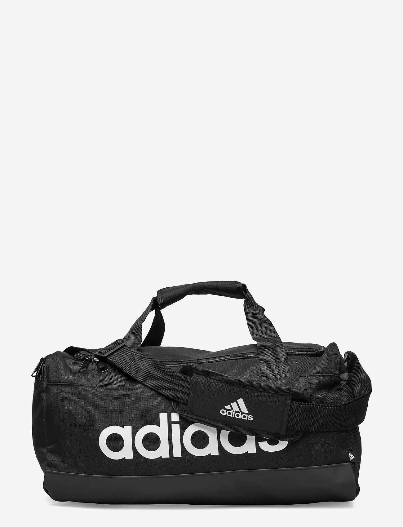 adidas Performance - Essentials Logo Duffel Bag Extra Small - træningstasker - black/white - 0