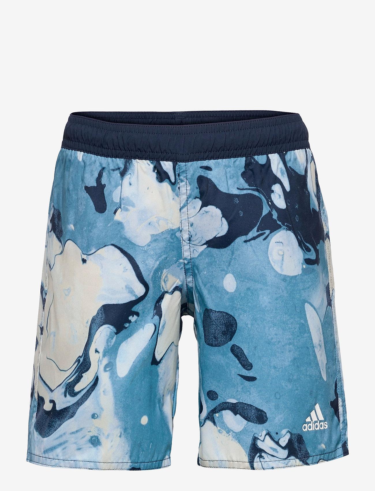 adidas Performance - Wavebeat Swim Shorts - bademode - hazblu - 0