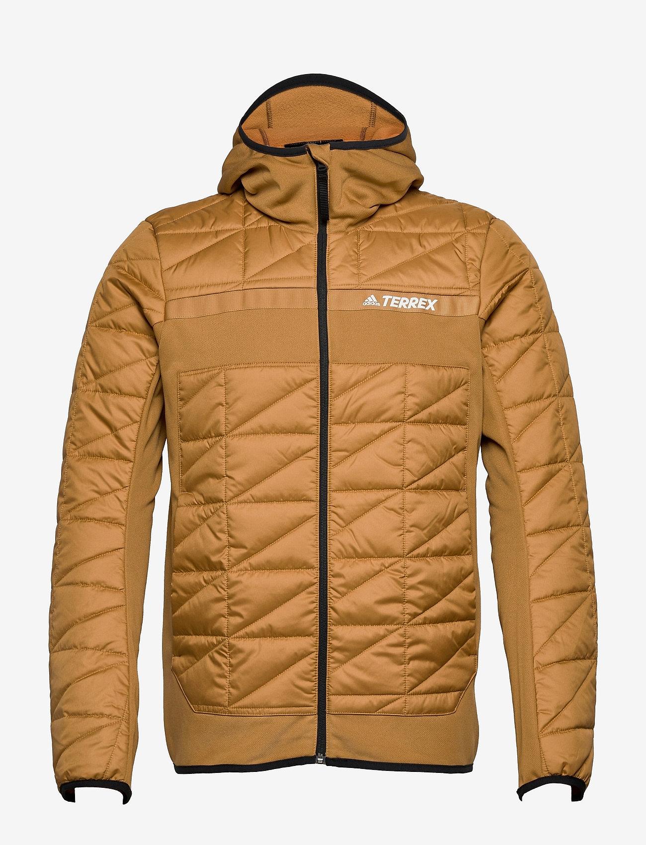 adidas Performance - Terrex Multi Primegreen Hybrid Insulated Jacket - friluftsjackor - mesa - 1