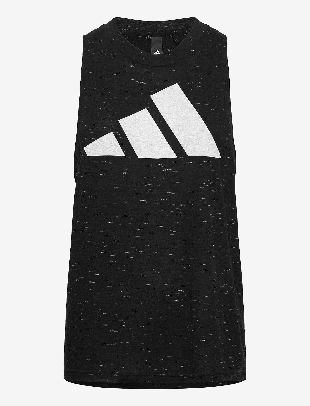 adidas Performance - Sportswear Winners 2.0 Tank Top W - topjes - blckme - 1
