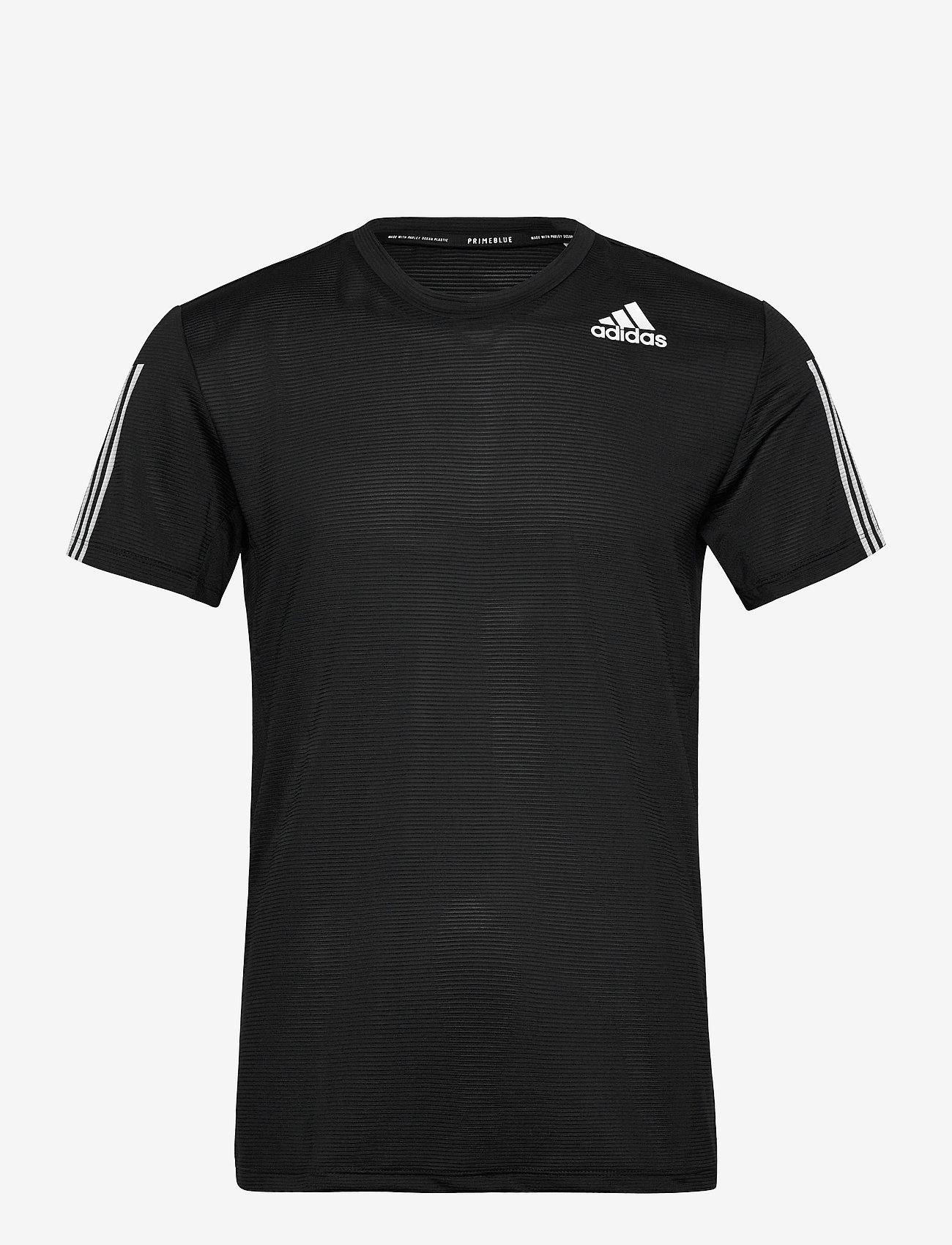 adidas Performance - Primeblue AEROREADY 3-Stripes Slim T-Shirt - oberteile & t-shirts - black - 1