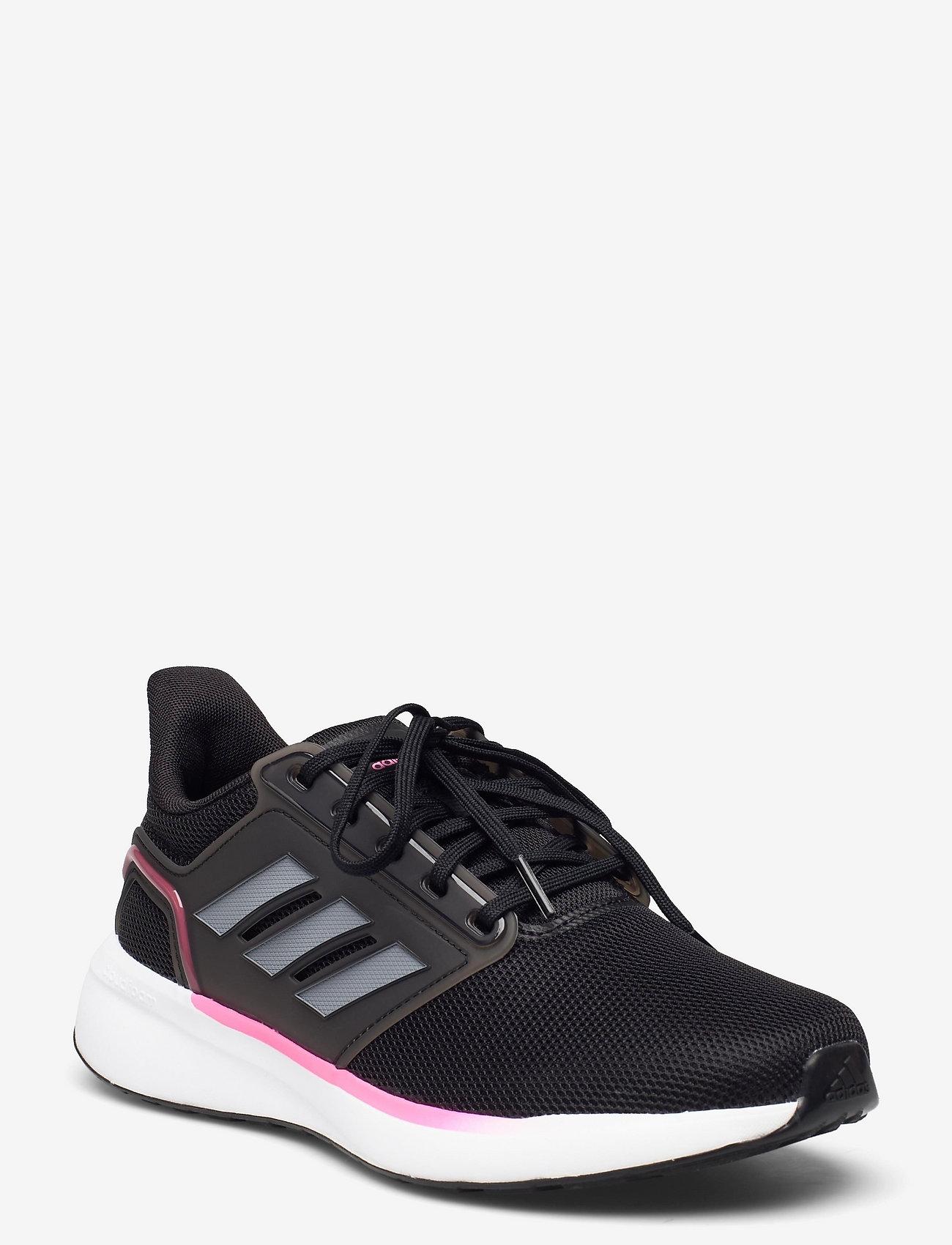 adidas Performance - EQ19 Run  W - running shoes - cblack/ironmt/scrpnk - 0