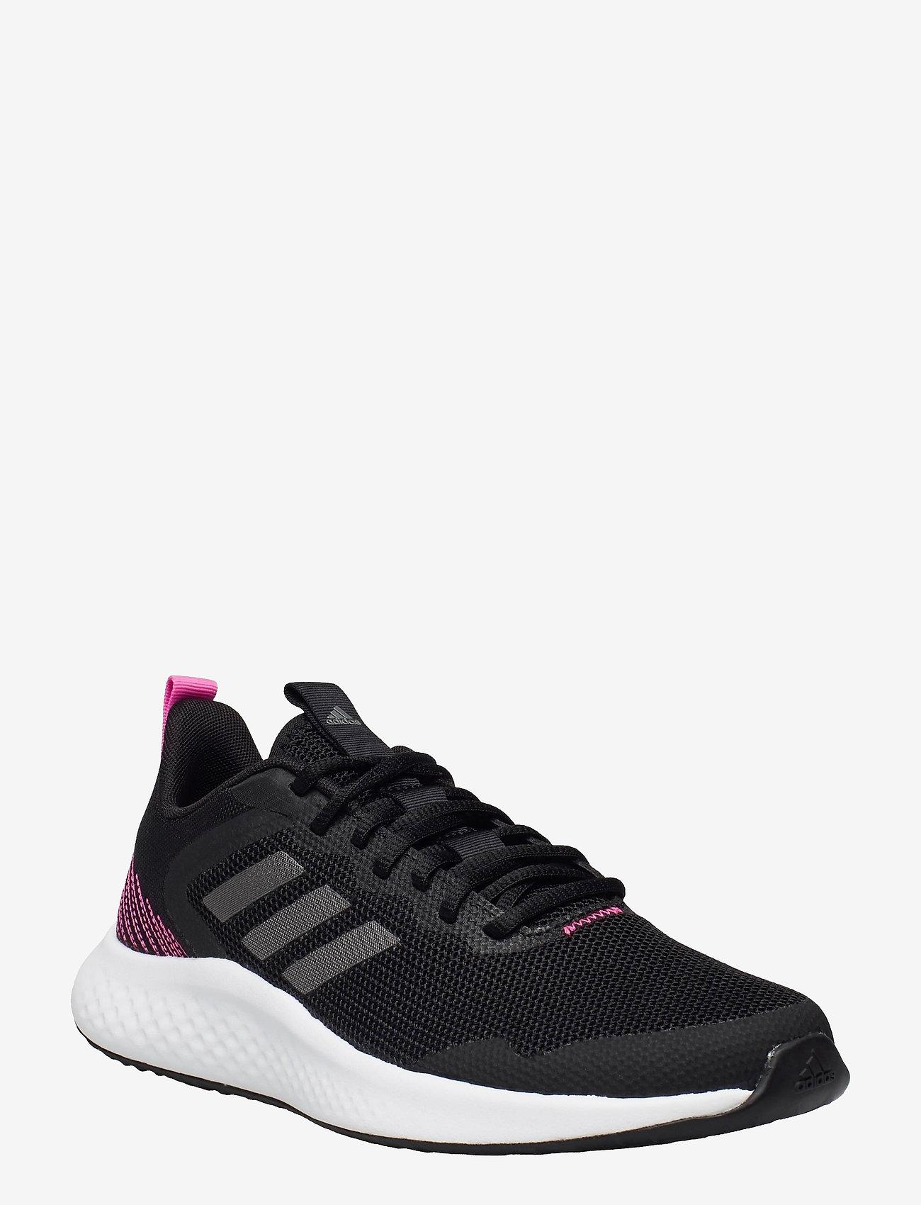 adidas Performance - Fluidstreet  W - running shoes - cblack/ironmt/scrpnk - 0