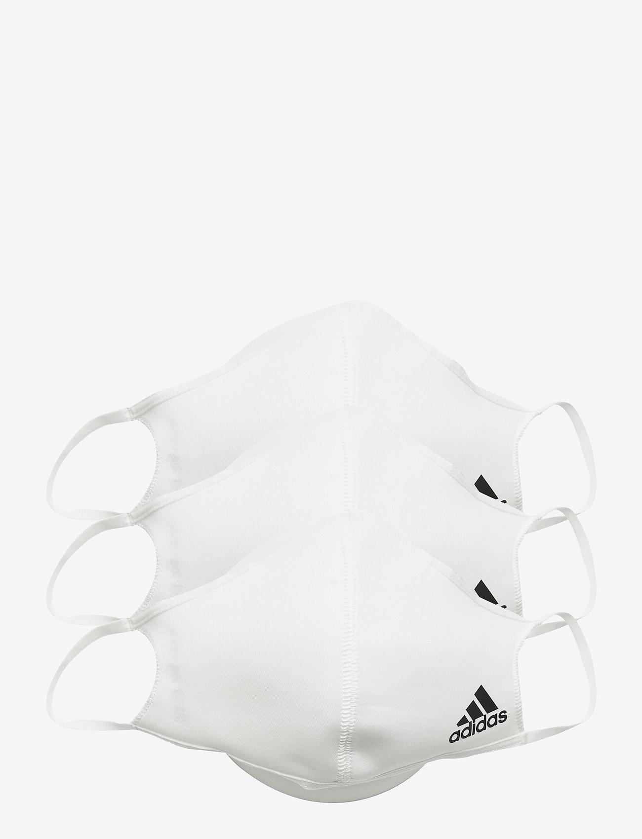 adidas Performance - FACE CVR M/L - gezicht maskers - white - 0