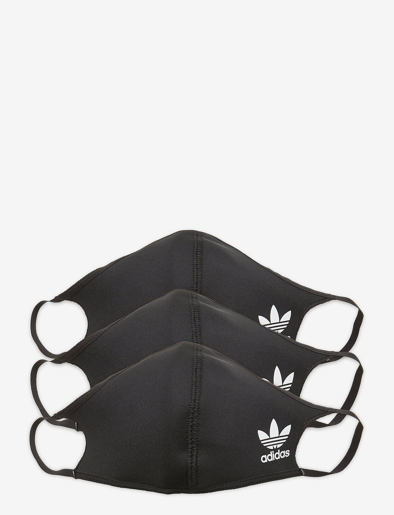 adidas Performance - Face Covers 3-Pack XS/S - Not For Medical Use - gezicht maskers - black/white - 0