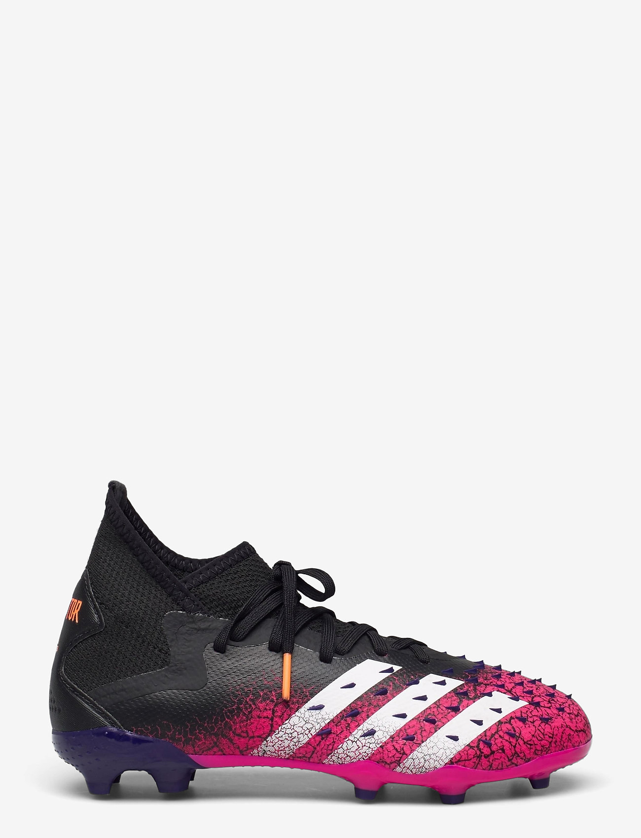 adidas Performance - PREDATOR FREAK .2 FG - fotballsko - cblack/ftwwht/shopnk - 1