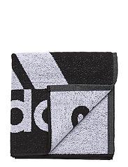 ADIDAS TOWEL S - BLACK/WHITE