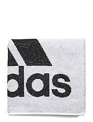 ADIDAS TOWEL S - WHITE/BLACK