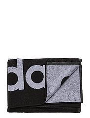 ADIDAS TOWEL L - BLACK/WHITE