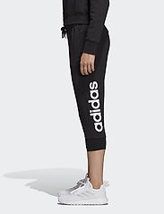 adidas Performance - Essentials Linear 3/4 Pants W - bukser - black/white - 0