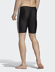 adidas Performance - 3-Stripes Swim Jammers - shorts - black/white - 3