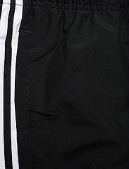 adidas Performance - Essentials 3-Stripes Wind Pants - treenihousut - black/white - 6