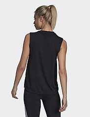 adidas Performance - W MH BOS TANK - topjes - black/white - 3