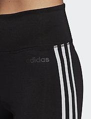 adidas Performance - W D2M 3S HR LT - leggings - black/white - 4