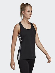 adidas Performance - W D2M 3S TANK - tank tops - black/white - 0