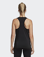 adidas Performance - W D2M 3S TANK - tank tops - black/white - 5