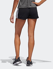 adidas Performance - Pacer 3-Stripes Knit Shorts W - træningsshorts - black/white - 3