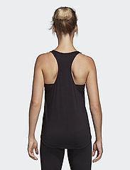 adidas Performance - W E LIN LOOS TK - podkoszulki bez rękawów - black/white - 3