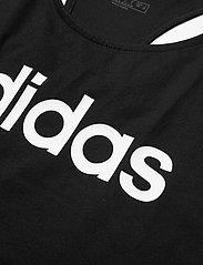 adidas Performance - W E LIN LOOS TK - podkoszulki bez rękawów - black/white - 4