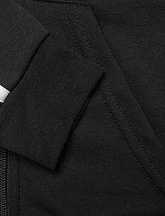 adidas Performance - YG E 3S FZ HD - kapuzenpullover - black/white - 5