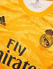 adidas Performance - REAL H GK JSY - football shirts - cogold - 4