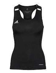 Team 19 Compression Tank Top W - BLACK/WHITE