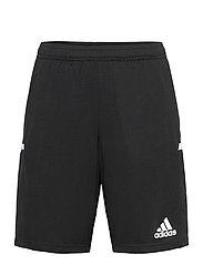 Team 19 3-Pocket Shorts - BLACK/WHITE