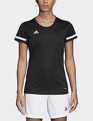 adidas Performance - Team 19 Jersey W - football shirts - black - 0