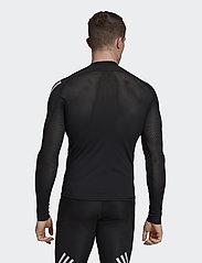 adidas Performance - ASK SPR LS 3S - langarmshirts - black - 3