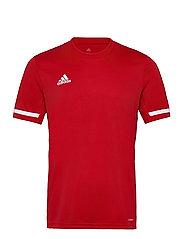 Team 19 Short Sleeve Jersey - POWRED/WHITE