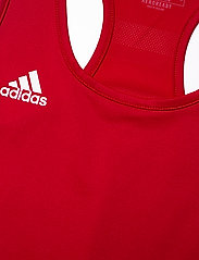 adidas Performance - Team 19 Compression Tank Top W - topjes - powred/white - 2