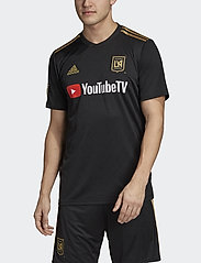 adidas Performance - LAFC JSY H - football shirts - black - 0