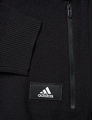adidas Performance - M ID Knit TT - track jackets - black - 3