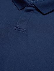 adidas Performance - Team 19 Polo Shirt - oberteile & t-shirts - navblu/white - 2