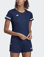 adidas Performance - T19 SS JSY W - voetbalshirts - navy - 0