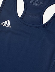 adidas Performance - Team 19 Compression Tank Top W - topjes - navblu/white - 2