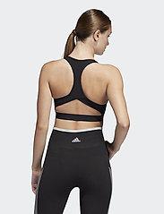 adidas Performance - DTR BOS NOV BRA - sport bras: medium - black - 3