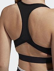 adidas Performance - DTR BOS NOV BRA - sport bras: medium - black - 4