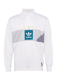 ELVTD LS RUGBY - WHITE/GRETWO/ACTTEA/C