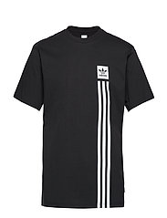 BB PILLAR TEE - BLACK/WHITE